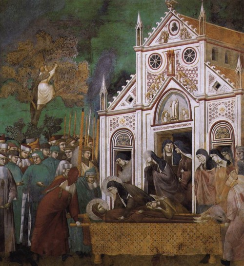 Giotto di Bondone / Djoto /  - Page 2 Legend-of-St-Francis-23.-St.-Francis-Mourned-by-St.-Clare-500x546