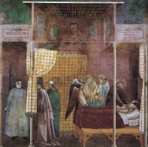 Giotto di Bondone / Djoto /  - Page 2 Legend-of-St-Francis-26.-The-Healing-of-a-Devotee-of-the-Saint-500x496