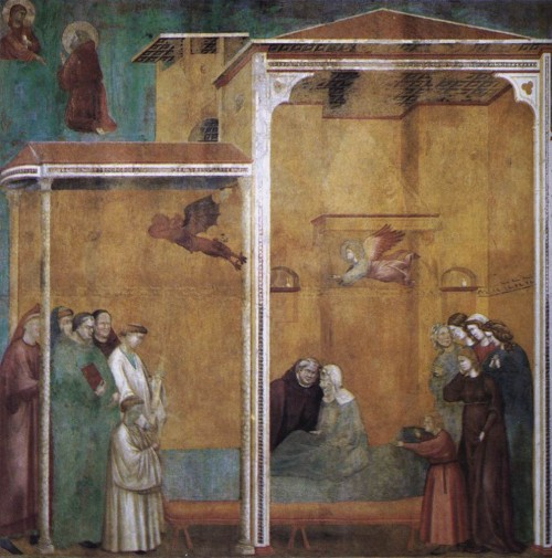 Giotto di Bondone / Djoto /  - Page 2 Legend-of-St-Francis-27.-Confession-of-a-Woman-Raised-from-the-Dead-500x505