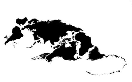 Dvanaest životinja kineskog horoskopa i karte sveta