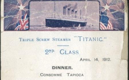 Poslednji obrok na Titaniku