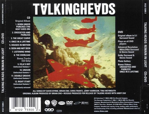 Talking Heads - Remain in light b