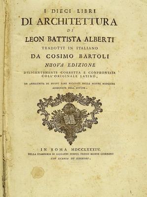 http://en.wikipedia.org/wiki/Leon_Battista_Alberti