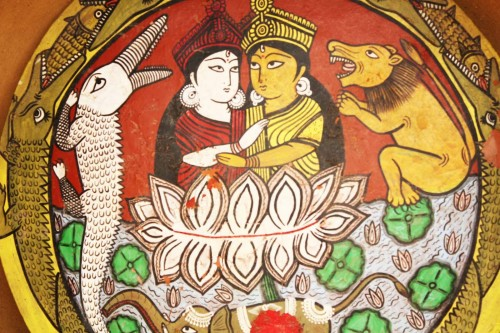 Mit o postanju, pleme 'Gond', centralna Indija