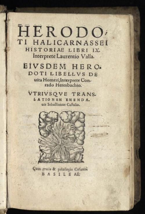 Herodot i Istorija