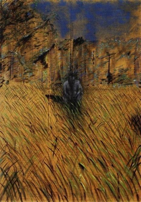 Studija za figuru u pejzažu (Study of a Figure in a Landscape, 1952)