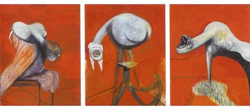 Tri studije za likove u podno++ju Raspe-ça (1944)