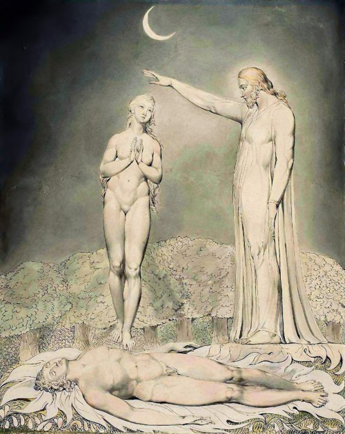The Creation Of EveWilliam Blake