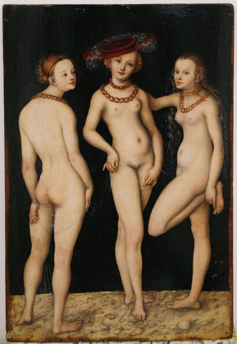 Tri gracije, L. Cranach