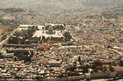 sl.1 Brdo Hrama i deo starog Jerusalima