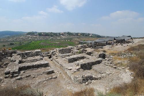 """Tzv. """"Solomonova kapija"""" na lokalitetu Gezer"""