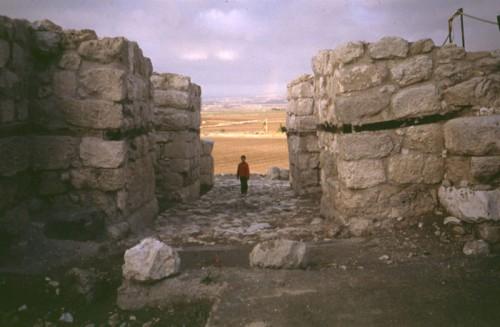 "Tzv. ""Solomonova kapija"" na lokalitetu Megido"
