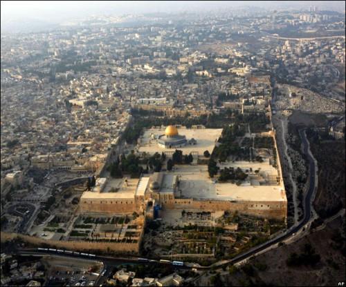 Širi prostor oko Brda Hrama