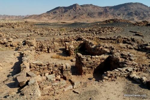 """Lokalitet Khirbat en-Nahas """"Ruševine bakra"""""""