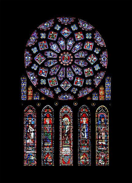 Ružin prozor, katedrala Notre-Dame de Chartres