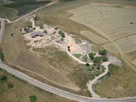 Lokalitet Hazor (Tel Hazor)
