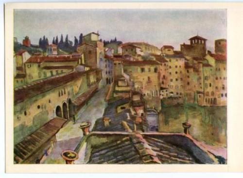 Serebriakova Ponte Vecchio