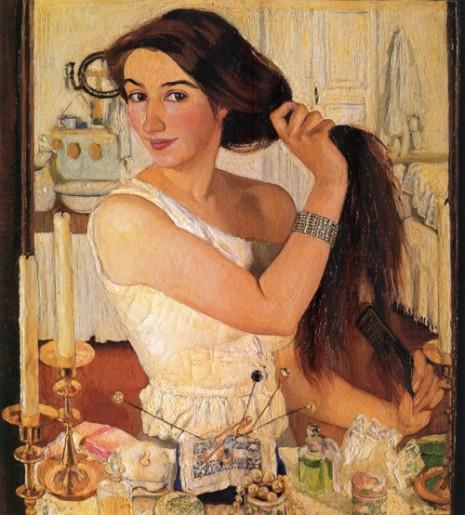 Zinaida Serebriakova At the dressing table
