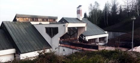 Поглед на Прихватни центар из правца Амфитеатра