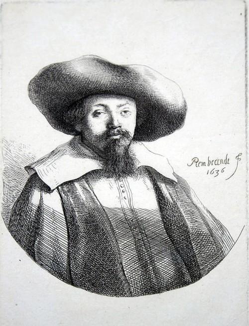 Portret M. ben Israel koji se pripisuje Rembrantu