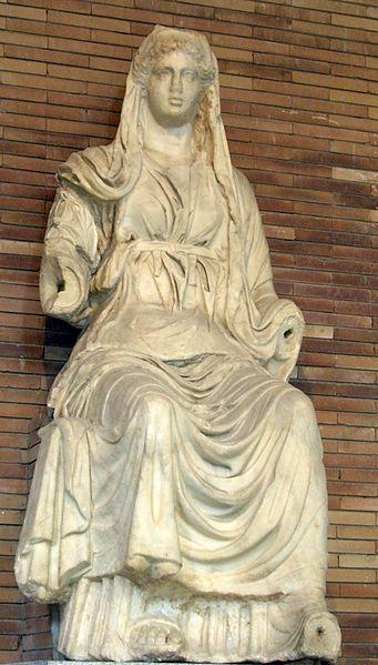 Statua boginje Ceres