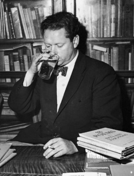 Dylan Thomas in New York, 1950