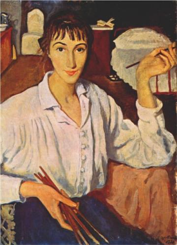 Serebriakova self-portrait-1921_jpg!Blog