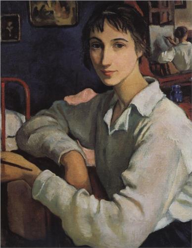 Serebriakova self-portrait-in-a-white-blouse-1922_jpg!Blog