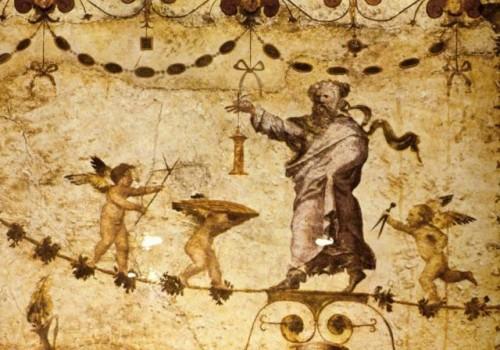 freska u Riumu, Diogen u pratnji Erosa