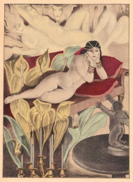 Carlo Farneti, ilustracije za Cveće zla