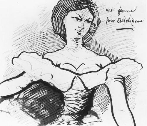 Gospođa Sabatie, portret Š.Bodler