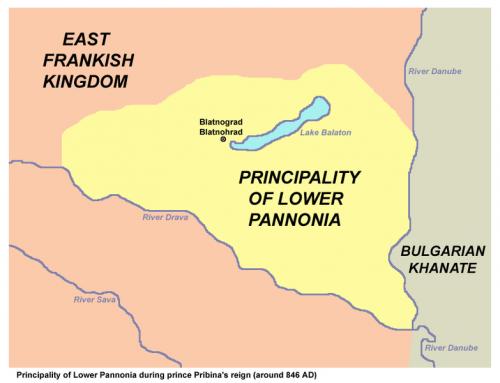 5.Knezevina Donja Panonija tokom vladavine Pribine