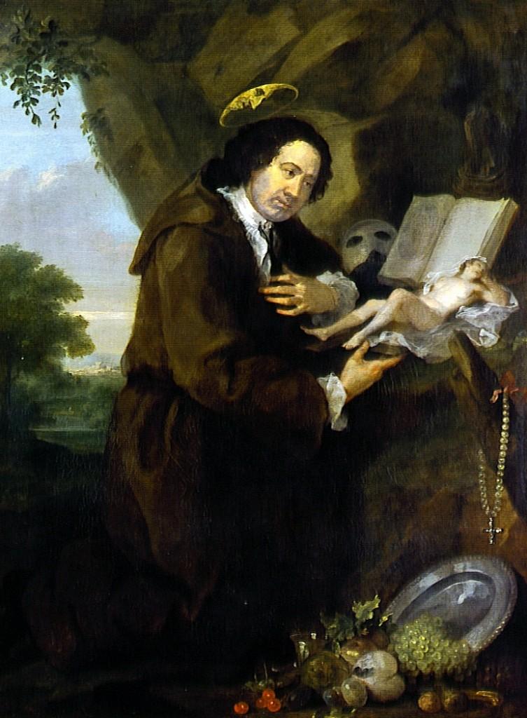 Portret Frensisa Dešvuda, naslikao Vilijam Hogart