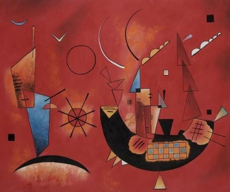 Mit und Gegen by Wassily Kandinsky OSA475