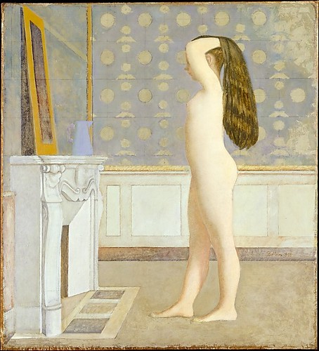 Balthus, Nude Before a Mirror