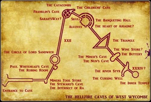 Mapa pećinskih hodnika