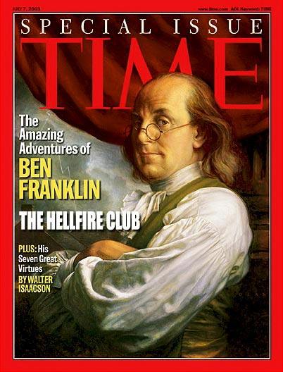 Bendžamin Frenklin, čest gost Helfajer kluba