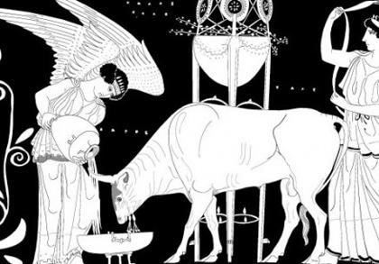 Antičko poređenje žrtvovanja sa erotskom vezom, Žorž Bataj