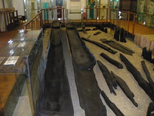 Monoksili pronađeni na lokalitetu Mikulčice