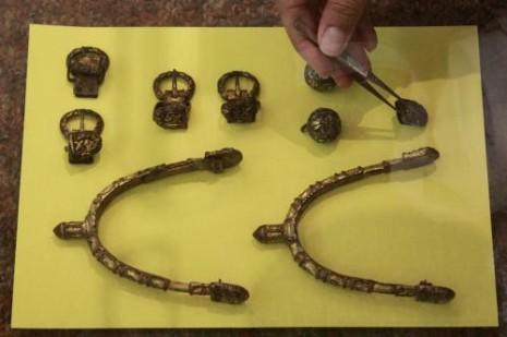 Arheološki nalazi sa lokaliteta Mikulčice