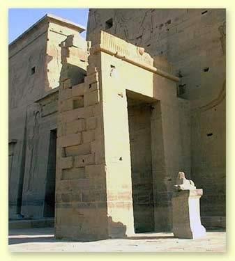 Imhotepov hram (kapela) na ostrvu File izgrađen u vreme Ptolomeja V Epifana