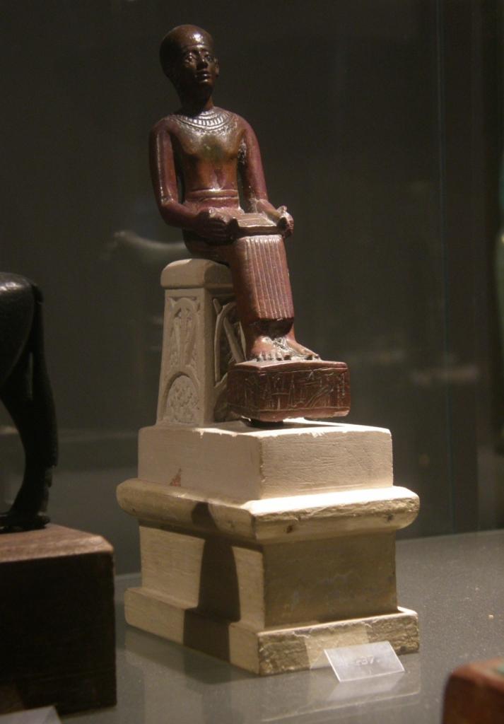 Figurina Imhotepa. Arheološki muzej u Bratislavi