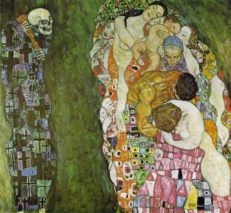 Г.Климт, Смрт и живот
