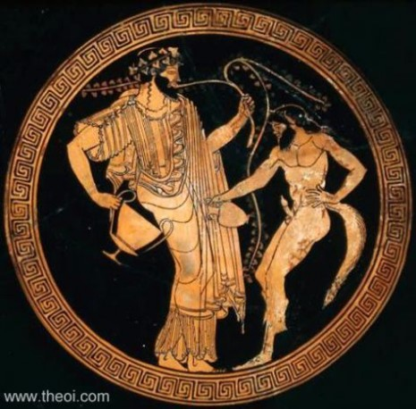 dionysos-satyros