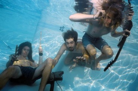 USA - Nirvana in Swimming Pool in Los Angeles
