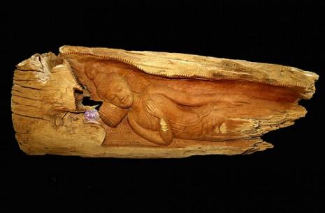 wood Buddha nirvana Treasures of Wisdom earth-spirit flickr 8748153012_4ab38d0e3a