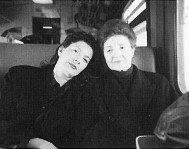Marina i Danica 1997. godine / Arhiv Abramović