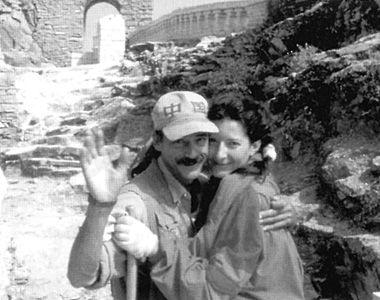 Susret Marine i Ulaja na Velikom kineskom zidu za potrebe performansa The Lovers / Arhiv Abramović