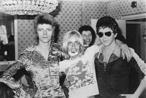 Lou Reed - Iggy Pop - David Bowie