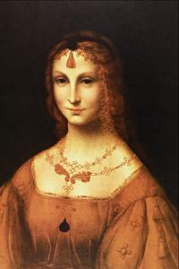 Mlada plemićka, nepoznati slikar iz škole Leonarda da Vinčija